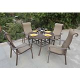 Amara 5 Piece Dining Set