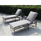 Porto Bello 3 Piece Chaise Set