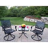 Web 3pc Swivel Chat Set
