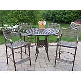Elite Cast Aluminum 5pc Bar Set