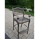 Elite Cast Aluminum Bar Stool