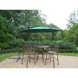 Elite 5pc Bar Set with Cantilever Umbrella