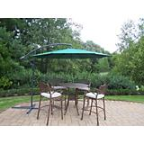 Elite 5pc Bar Set with Cushion and Umbrella