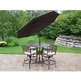 Elite Mississippi 5pc Set w/ Cushion plus Umbrella