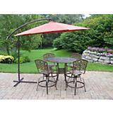Elite Mississippi 5pc Swivel Bar Set with Umbrella