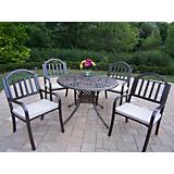 Elite 42In Rochester 5pc Dining Set with Cushion