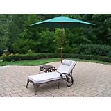 Elite 2pc Lounge Set with Cushion plus Umbrella
