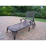 Elite Cast Aluminum Chaise Lounge