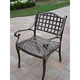 Elite Cast Aluminum Arm Chair