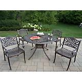 Capitol Mississippi 5pc Dining Set