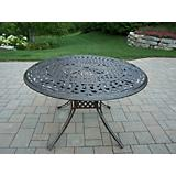 Capitol Cast Aluminum Dining Table