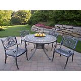 Sunray Cast Aluminum Hummingbird 5pc Dining Set