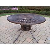 Sunray Cast Aluminum Dining Table