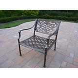 Tacoma Cast Aluminum Arm Chair