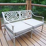 Tacoma Aluminum Deep Seating Loveseat w/ Cushions
