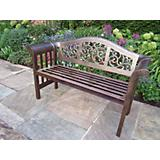 Mississippi Cast Aluminum Royal Bench