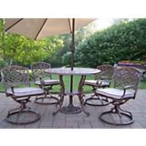 Mississippi 5pc Set w/ Cushions plus Umbrella