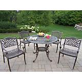 Mississippi 42Inch 5pc Dining Set