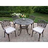 Mississippi 5pc Deluxe Chair Dining Set w/ Cushion