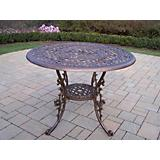 Mississippi Aluminum 42In Dining Table