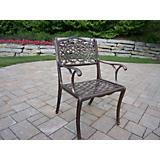Mississippi Cast Aluminum Arm Chair