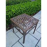 Mississippi Cast Aluminum End Table