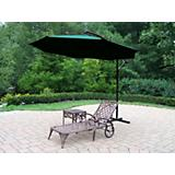 Mississippi 2pc Lounge Set w/ Offset Umbrella