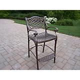 Mississippi Cast Aluminum Bar Stool