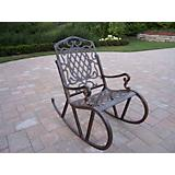 Mississippi Cast Aluminum Rocking Chair