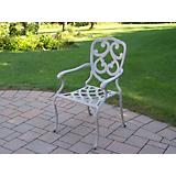 Pacifica Cast Aluminum Fully Welded Dining Chair