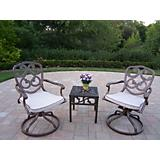 Pacifica 3pc Swivel Rocker 3pc Set w/ Cushon