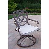 Pacifica Cast Aluminum Swivel Rocker