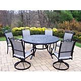 Mississippi Cascade 7pc Sling Dining Set