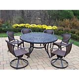 Mississippi Tuscany 60Inch 7pc Dining Set