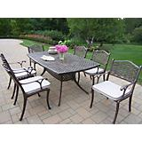Oxford Mississippi 7pc Dining Set with Cushions