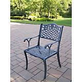 Tea Rose Cast Aluminum Dining Chair