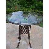 Hummingbird Cast Aluminum 42Inch Bar Table