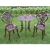 Rose 3pc Bistro Set