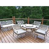 Stone Art 6pc Tacoma Deep Seating Conversation Set