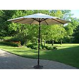 9 Ft Tilting Umbrella and Stand