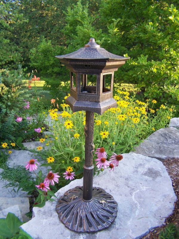 Lantern Bird House (OAKLAND LIVING CORP 5025-AB 730050002357 Wild Bird Supplies Bird Houses) photo