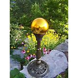 Gazing Ball Gold