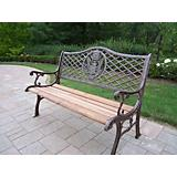 American Eagle Bench Antique Bronze