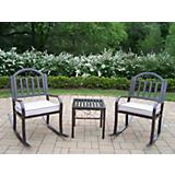 Rochester 3pc Rocker Set with Cushions