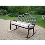 Rochester Rocking Bench with Cushion