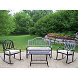 Rochester 4pc Rocker Seating Set with Cushions