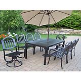 Rochester 9pc Set with 2 Swivels plus Umbrella