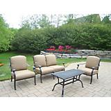 Hampton 4pc Chat Set with Cushions