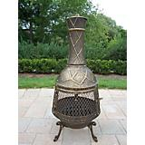 Oakland Living EliteChiminea with Grill
