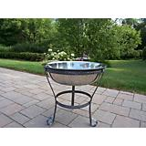 20Inch Stainless Steel Ice Bucket and Stand